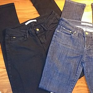 Joe's Jeans Denim Chelsea fit, 25×33, Lot of 2,EUC